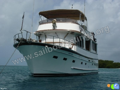 Marine Trader Trawler Year = 1985 Length = 53.00 ft