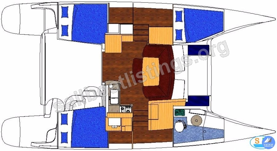 Fountaine Pajot Mahe 36 Evolution Year = 2013 Length = 11.00 m
