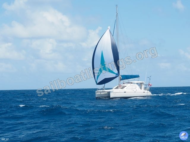 Robertson & Caine Leopard 40, 4 cabin version Year = 2005 Length = 39.10 ft