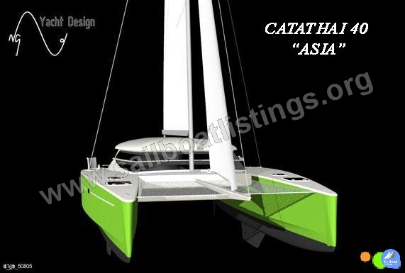 Catathai Shipyard 40 ASIA Year = 2009 Length = 12.90 m
