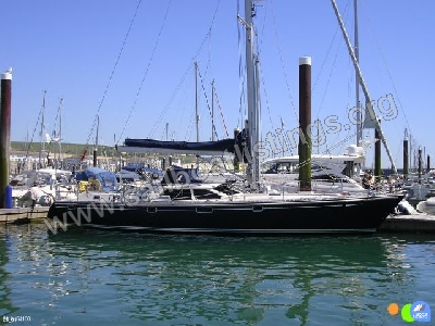 Oyster Marine 485 Year = 1999 Length = 48.60 ft