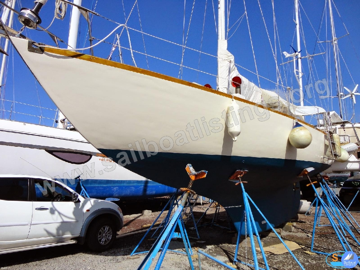Bottini Shipyard, Uruguay Classic Racing Wooden Year = 1962 Length = 11.99 m