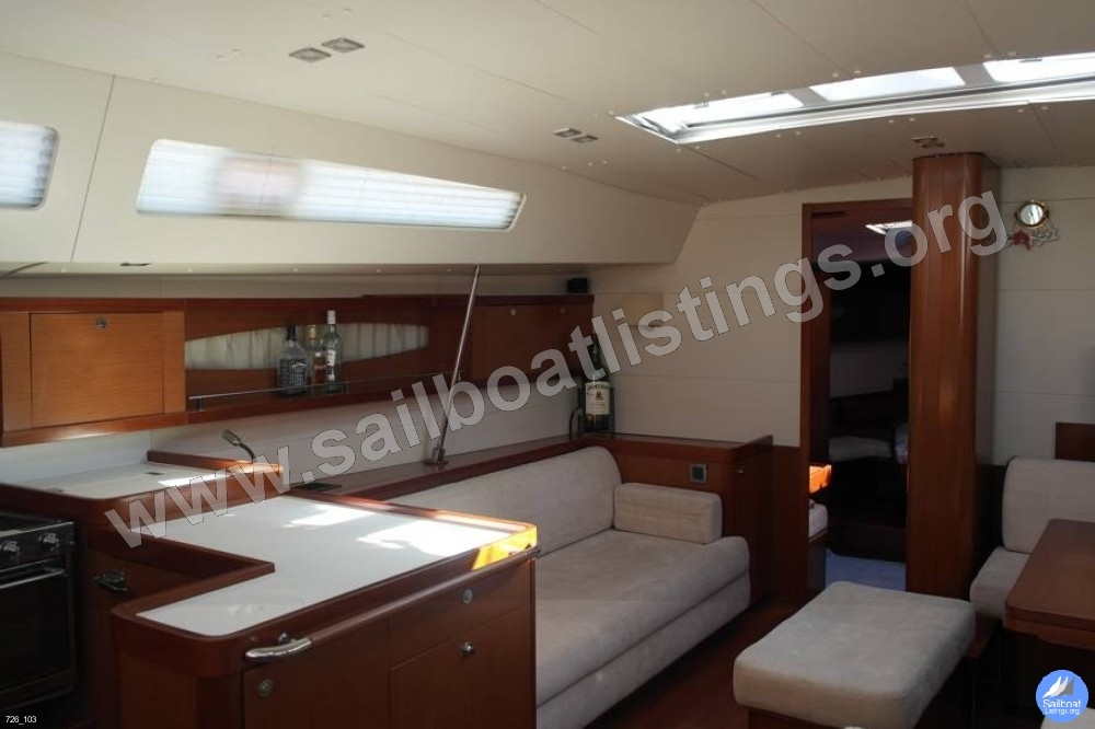 Beneteau Oceanis 58 Year = 2010 Length = 18.24 m