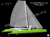 Catathai Shipyard 34  Phuket Year = 2009 Length = 11.30 m